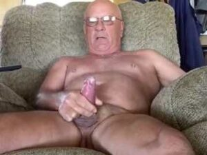 Older Guy Rough Masturbation